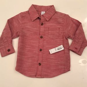 6-12M Button Up